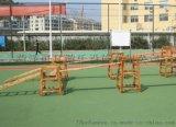 进口材质攀爬架 幼儿园游乐设施 大型防腐积木生产