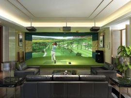 定制室内高尔夫模拟器设备