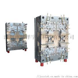 出口品质全尺寸+/-0.03mm高精密插件模具