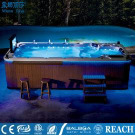 桂林民宿温泉泳池-无边际休闲泳池-智能健身泳池设施