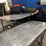 室內幕牆藝術雕花鋁單板鏤空幕牆聚酯鋁單板