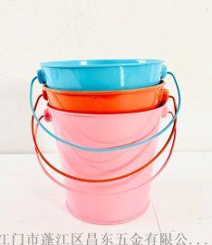 鐵皮桶,糖果色鐵皮小花桶 ,迷你裝飾品花盆
