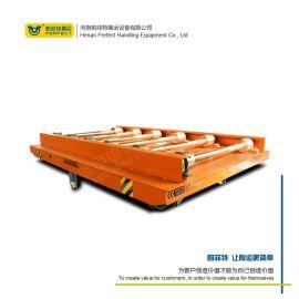 半导体设备搬运厂区内物料周转 低压轨道供电钢轮转台