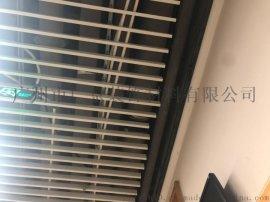 医院走廊吊顶换气通风铝格栅铝方通吊顶铝天花