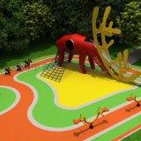 中青遊樂 煙臺戶外不鏽鋼組合滑梯 兒童組合滑梯設備