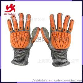 (廠家直銷)勞保手套 防割防撞專家 5級防割超耐磨