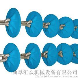 粉体输送设备厂 粉料管链提 Ljxy 碱面不锈钢管