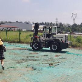 四驱柴油叉车 3吨全新堆高搬运车 燃油越野叉车