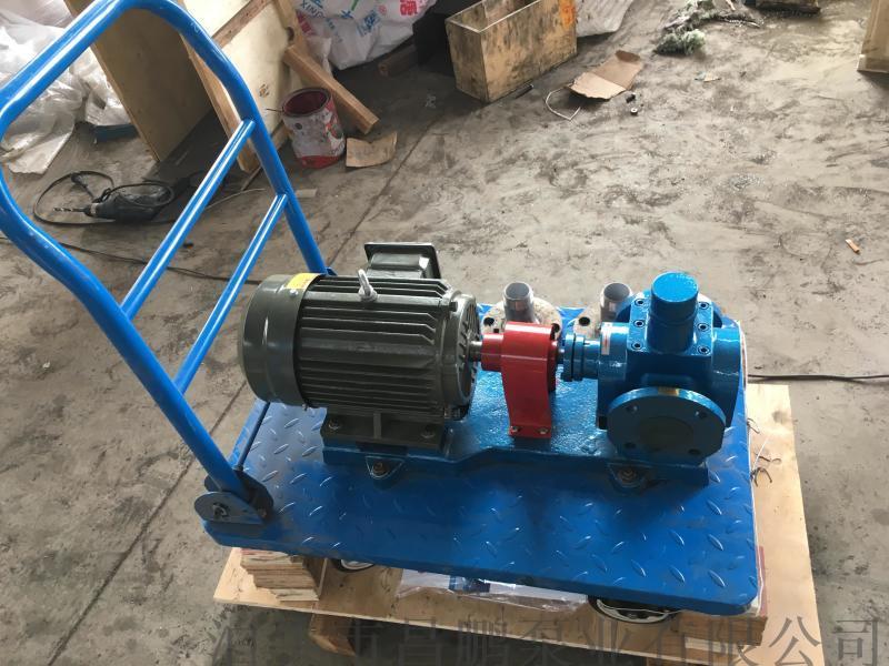昌鹏泵业YCB0.6-0.6圆弧齿轮泵 不锈钢泵