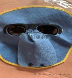 牛皮面罩 防护面具