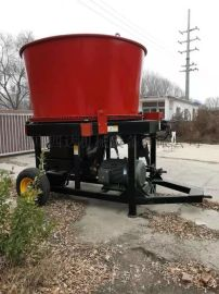 新款圆盘式草捆粉碎机,圣隆60型草捆破碎机