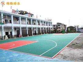 株洲硅PU塑胶跑道 丙烯酸球场材料 篮球场塑胶铺设
