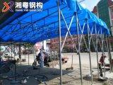 珠海新款式大型仓库推拉遮阳棚PVC帆布活动推拉棚