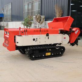 小型履带式开沟机 多功能开构施肥机 田园管理机