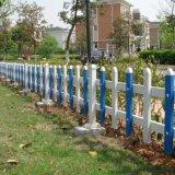 四川自贡pvc塑钢草坪护栏厂家 pvc围栏护栏厂家
