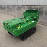 新型履帶式果園耕地機, 遙控控制小  耕地機