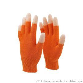 立特邦防护科技  13针碳纤维PU涂指手蒌