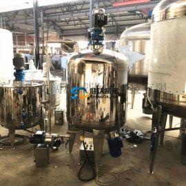 不锈钢液体搅拌罐,酒精专用机械密封罐 防爆电机标配
