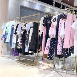 广州品牌女装折扣红鲱鱼  货源
