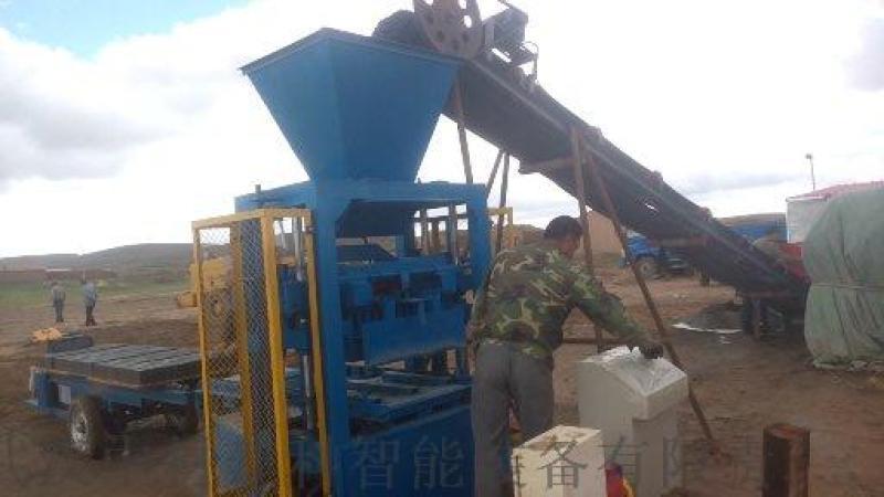 中材建科多功能液壓磚機