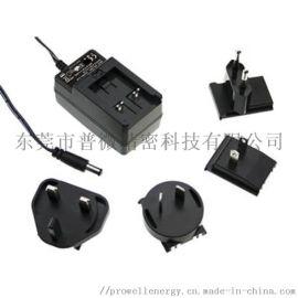 OEM可转换插头墙式适配器 多插头电源适配器
