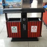 平钢木镀锌板材质环卫垃圾桶南昌禾乔厂家
