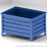 波紋板金屬箱固定式金屬週轉箱