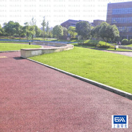 彩色透水混凝土路面 材料施工兼营