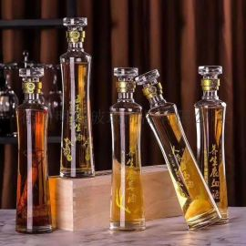 定制  人参酒瓶海马   瓶养生鹿血酒瓶