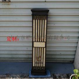 房地产定制壁灯户外不锈钢仿水壁灯电镀拉丝酒店床头灯