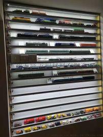 百万城火车模型展示架