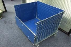 中空板镀锌仓储笼  小件散件专用