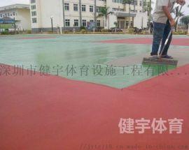 深圳篮球场施工_网球场施工_排球场施工