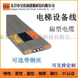 电梯线 扁电缆 电梯扁电缆 电梯扁电线 设备扁电缆