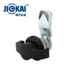 JK617 开孔22mm转舌锁 配电箱锁 蝴蝶锁