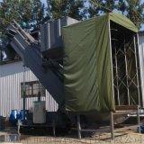 集裝箱粉煤灰中轉設備 翻箱卸灰機 散水泥無塵拆箱機