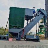 集装箱卸灰机报价 粉煤灰中转设备 码头翻箱卸灰机