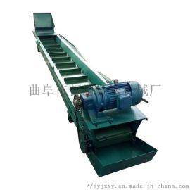 刮板式设备 爬坡上料机 都用机械爬坡式埋刮板机