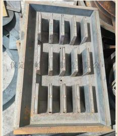 按需定制脱模容易盖板模具 保定傲岭隔离墩模具