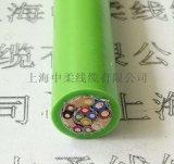 上海工藝TRVV規格柔性耐彎曲,護套耐油拖鏈電纜
