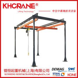 kbk柔性组合悬挂式起重机德马格电动葫芦欧式起重机