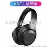 頭戴式降噪耳機  ANC無線主動降噪藍牙耳機