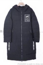 中长款女装羽绒服2019新款韩版折扣服装