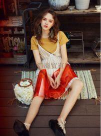 时尚女装潮牌SR品牌折扣女装春装一手货源剪标货源
