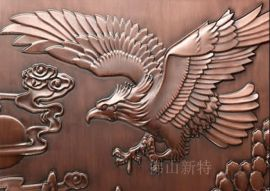 装饰浮雕铝艺壁画金属雕刻墙画设计图片