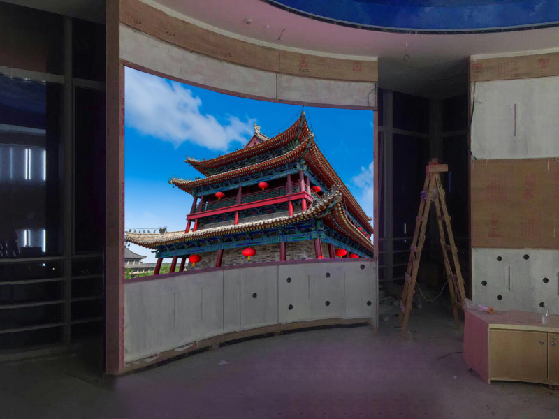 英雄联盟大屏幕显示设备,电竞展馆LED高清显示屏