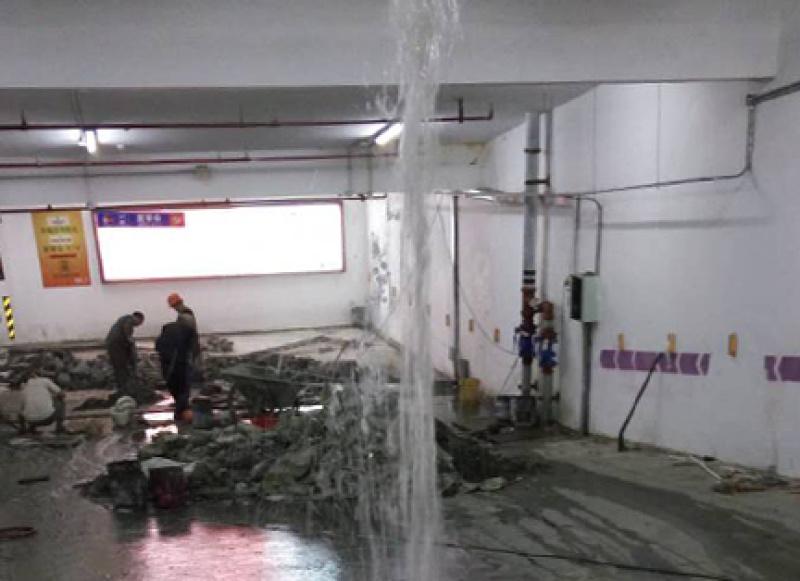 上饒水電站地下廠房堵漏 水利工程伸縮縫漏水處理