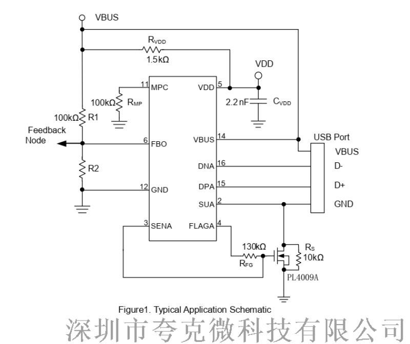 代理FP6601AM,支持A+A双口协议芯片