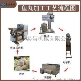 丸子生产线,肉丸成型机器,鱼丸生产设备