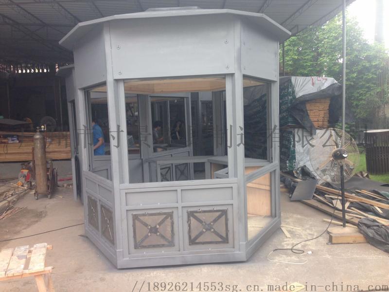 防腐木售货亭商业街售卖亭景区木制岗亭售票亭小木屋